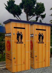 Toilet Portable BatuBeling Untuk Selecta - Batu - Malang