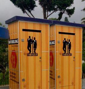 Pengiriman Toilet Portable Ke Selecta Malang