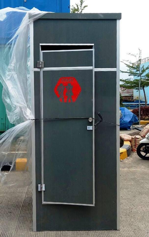 2 Unit Toilet Portable Kirim Ke Pasuruan