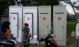 Toilet Portable di Universitas Trunojoyo Madura