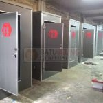 40 Unit Toilet Portable Type Standart Dikirim Ke Ternate - Maluku Utara