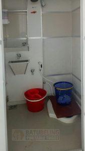 2 Unit Toilet Portable Type Standart Sistem Sewa