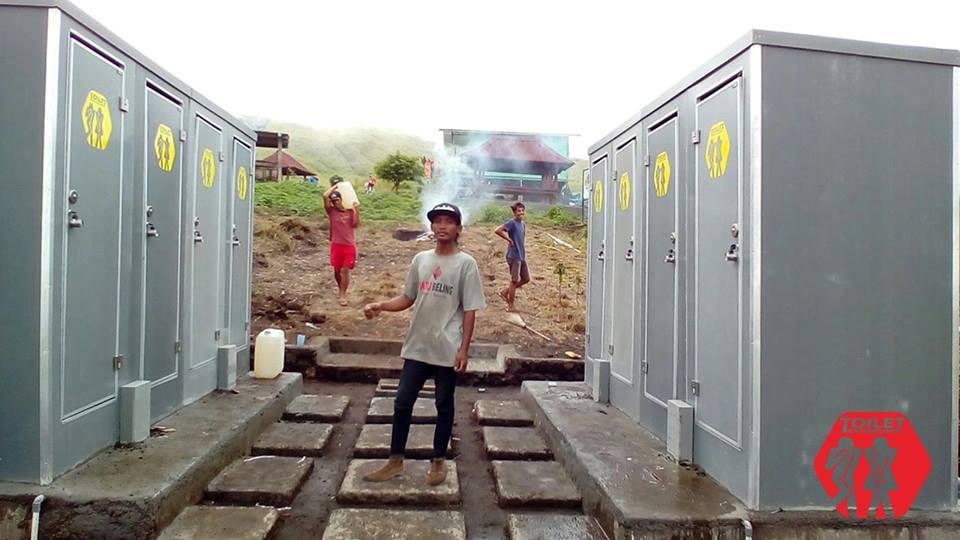 Toilet Portable di Gunung Rinjani