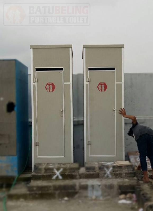 Toilet Portable Proyek di BG Junction Surabaya