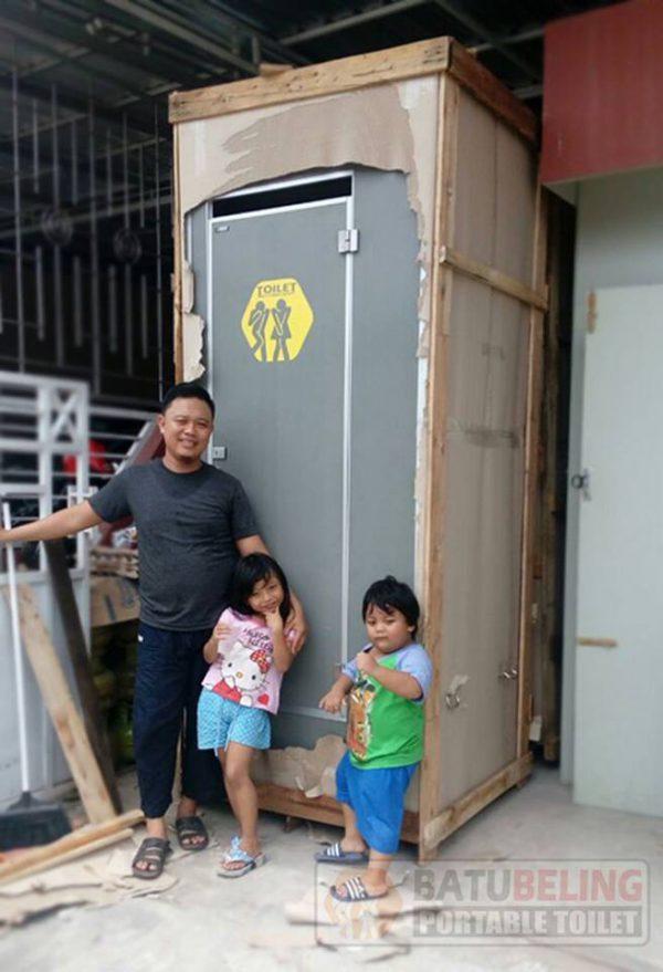 Pengiriman Toilet Portable Ke Banjarmasin - Kalimantan Selatan