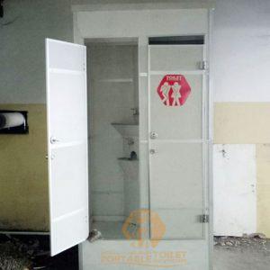 Toilet Portable Tipe Urinoir di Mall Kazza City - Surabaya