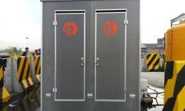 Proyek Portable Toilet di Teluk Lamong - Surabaya