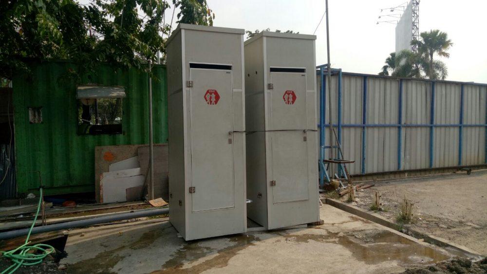 Proyek Toilet Portable di Icon Mall - Gresik