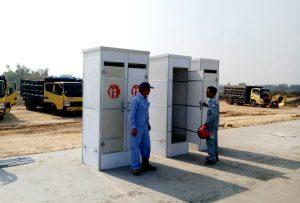 Sewa Toilet Portable - Proyek Tol Nganjuk - Jawa Timur