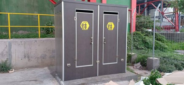 Portable Toilet Standart Double