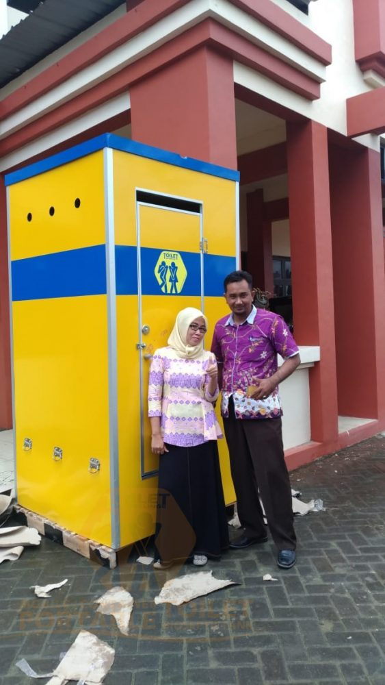 Toilet Portable Custom Sumenep Madura